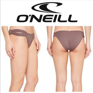 O'NEILL Saltwater Solids Tab Side Bikini Bottoms M